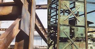 پاورپوینت اشکالات اجرایی ساختمان های فولادی